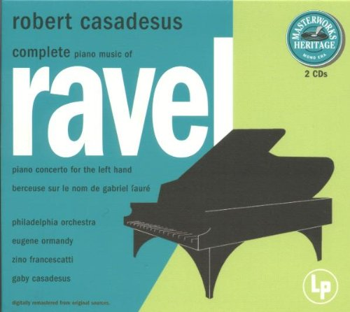 Original Piano Music Complete (Complete Piano Music of Maurice Ravel)