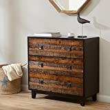 Byron Chattered Wood Accent Chest Chestnut See Below