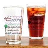 CafePress - A Christmas Story Quotations - Pint Glass, 16 oz. Drinking Glass