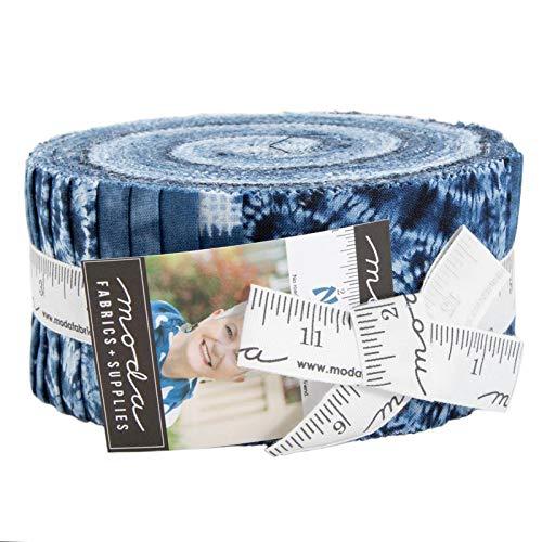 - Debbie Maddy Nuno Jelly Roll 40 2.5-inch Strips Moda Fabrics 48040JR