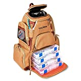 The X-Large 'Blackstar' Fishing Backpack, Tackle Box Storage Bag - Non-Corrosive Fishing Tackle Bag with (4X) 3650 Boxes -Fisherman Gifts for Men, Tackle Backpacks Tackle Box (Includes Tackle Trays)
