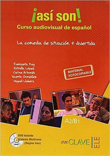 Descarga de libros en ingles Así Son (+ DVD) in Spanish ePub 8416108331