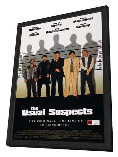 The Usual Suspects - 11 x 17 Framed Movie Poster