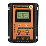 VGEBY 30A/50A MPPT Solar Charge Controller, Solar Panel Battery Intelligent Regulator with Dual USB Port and LCD Display 12V/24V(30A)