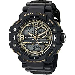 Wrist Armor Men's 'U.S. Army' Quartz Black Casual Watch (Model: 37200026)