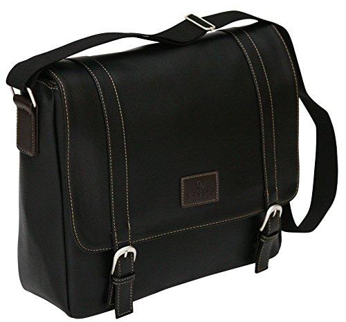 """Aktentasche aus PU-Kunstleder - Business-Tasche mit Fach für einen 13"""" Laptop"""