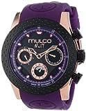MULCO Unisex MW5-1962-087 Analog Chronograph Swiss Watch