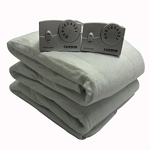 Cannon Heritage Heated Mattress Pad Queen