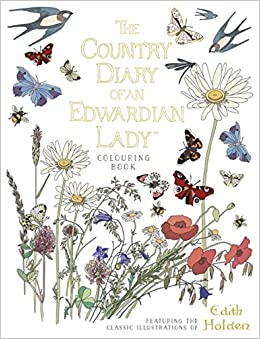 Book The Country Diary of an Edwardian Lady Colouring Book