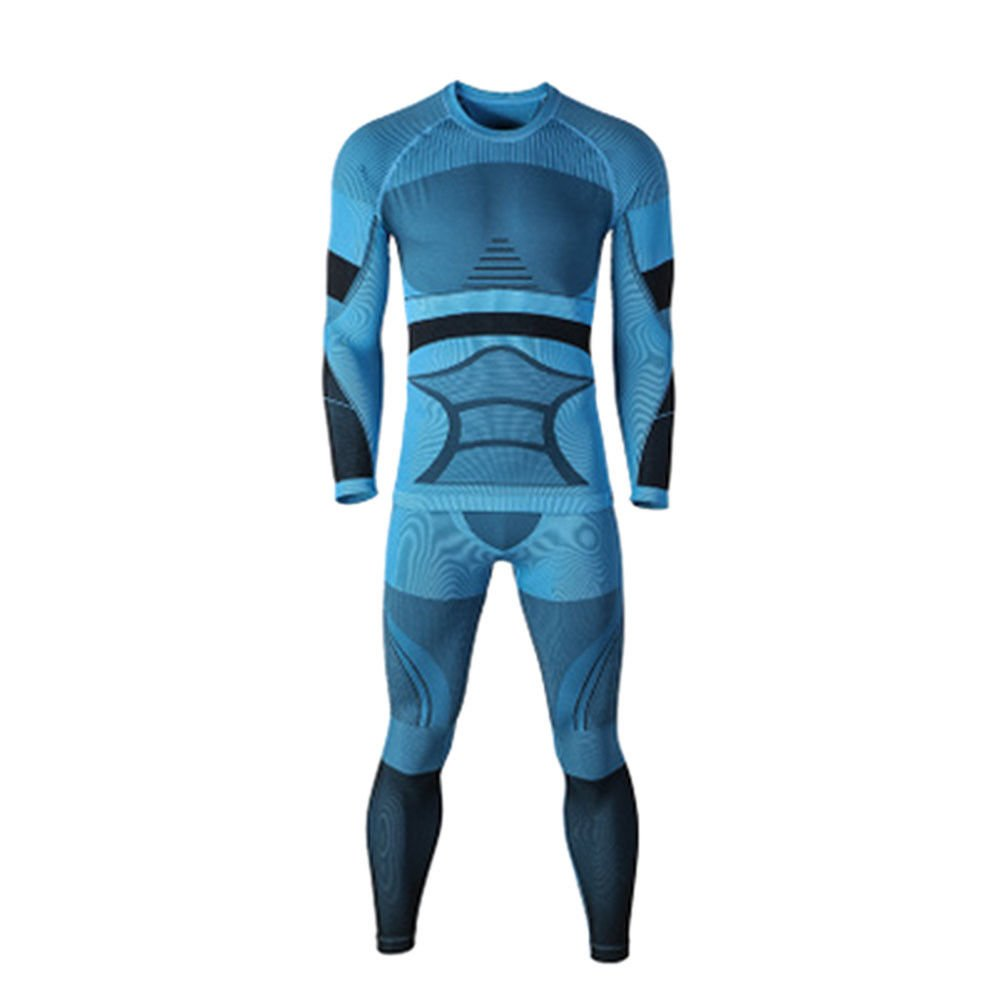 Meijunter Men Women Sports Base Layer Pant Ski Thermal Underwear Set Long Johns junsi