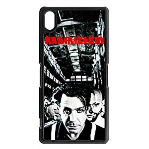 Awesome Rammstein Band Phone Case For Sony Xperia Z2 Case,Rammstein Band Logo Sony Xperia Z2 Black Hard Plastis Case Cover