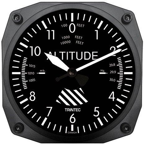 (Trintec Altimeter Wall Clock)