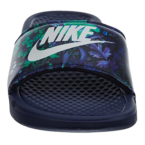 Nike Kvinders Benassi Jdi Print Sandal Binære Blå / Sejl jSvI1JsCS