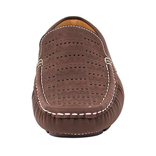Beverly St Beverl St Manar Skor Dressy Mocassin Loafers (rds44 Brunt, 6,5 Oss)