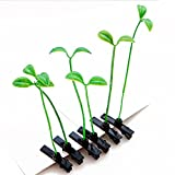 Nice Moment Creative Bean Sprouts Hairpins Most Fashionable Hair Clow Clips This Summer Suitable for All Ages (20pcs)