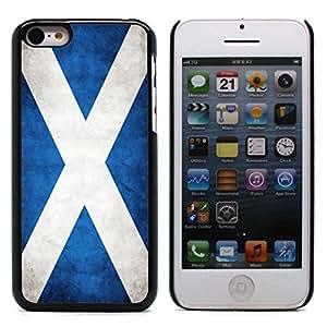 Graphic4You Vintage Scottish Flag of Scotland Design Hard Case Cover for Apple iPhone 5C