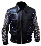 SPAZEUP CHRIS JERICHO LEATHER JACKET