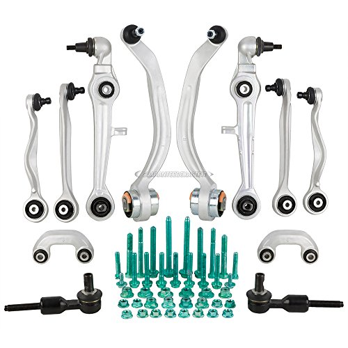 Brand New Complete Front Upper Lower Left & Right Control Arm Kit For Audi & VW - BuyAutoParts 93-80011K4 New