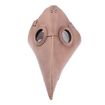 IPOTCH Máscara de Pájaro Cuero Retro Peste Médico Doctor ...