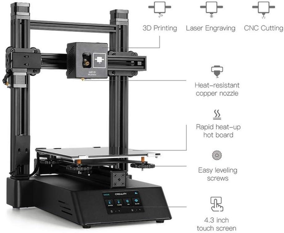 Impresora 3D 3 En 1 con Impresión 3D, Grabado Láser, Corte CNC ...
