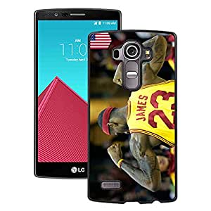 Beautiful Designed Case With lebron james 2 Black For LG G4 Phone Case