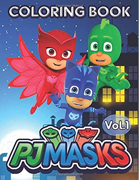 - PJ Masks Coloring Book: 50+ PJ Masks Coloring Pages Great Coloring Book For  Toddlers Kids Girls And Boys: Richard, Frank: 9781702891271: Amazon.com:  Books