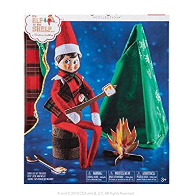 The Elf on the Shelf Exclusive 2020 Claus Couture Cheery Christmas Camper: Toys & Games