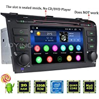 JOYING 7 Car Radio 2GB 32GB Android 5.1 for Mazda 3 2004-2008 upgradeable to Android 6.0 Car Stereo Bluetooth WiFi Touch Screen Double 2 Din Head Unit Car Audio GPS Navigation Receiver