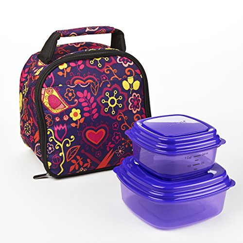 gabby-kids-lunch-bag-kit-with-sandwich-side-containers-woodstock