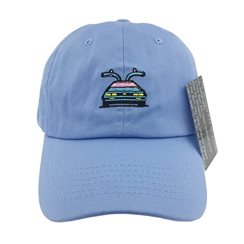 Back To The Future Hat Cap Dad Hats Marty's 80s Delorean Time Travel Machine