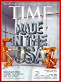 Time Magazine (April 22, 2013) Made In The USA Cover