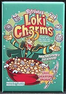 Amazon.com: Loki Charms Cereal Refrigerator Magnet ...