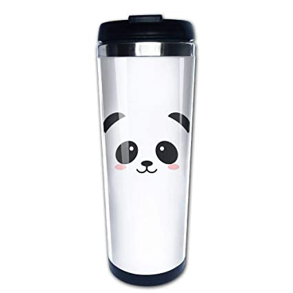96f8ab84614 Amazon.com: 304 Stainless Steel Liner Coffee Cup Tumbler Mug Panda ...