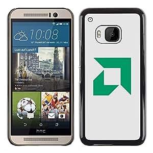TaiTech / Prima Delgada SLIM Casa Carcasa Funda Case Bandera Cover Armor Shell PC / Aliminium - AMD - HTC One M9