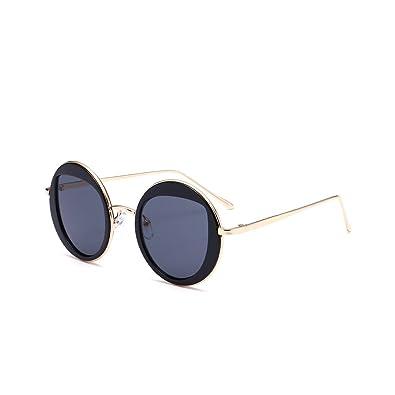 Nube Gafas de sol Gafas UV Mujer Hombre Fashion redondo ...