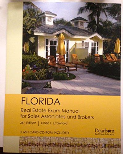 Florida Real Estate Exam Manual for Sales Associates and Brokers 36th Edition By Linda L. - Sales Linda