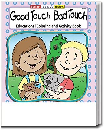 Good Touch Bad Kids Coloring Activity Book In Bulk