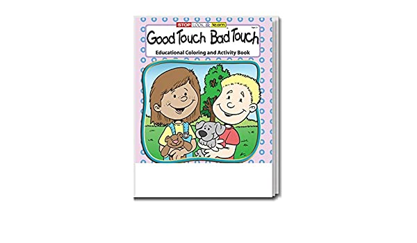 Amazon.com: Good Touch Bad Touch Kid\'s Educational Coloring ...