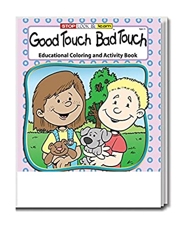 Amazon.com: Good Touch Bad Touch Kid\'s Coloring & Activity Book in ...