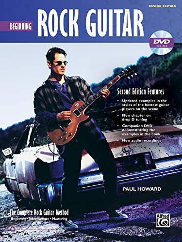 Complete Rock Guitar Method: Beginning Rock Guitar (Book & DVD-ROM) (Complete Method)