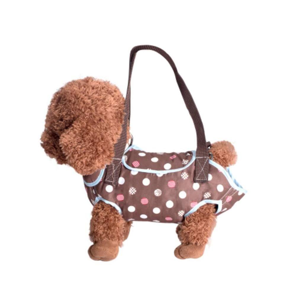 BROWN 30CMBTPDIAN Pet Portable  Messenger Bag  Four Feet Bag  Bomei Cat Travel  Backpack (color   BROWN, Size   30CM)
