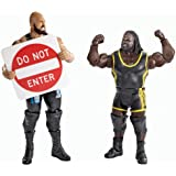 WWE Battle Pack: Big Show vs. Mark Henry with Do Not Enter Sign Action Figure (2-Pack)