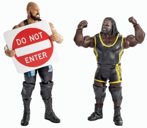 WWE Battle Pack: Big Show vs. Mark Henry with Do Not Enter Sign Action Figure -