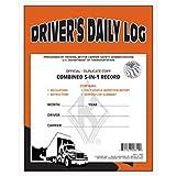 J.J. Keller - 5-In-1 Driver's Daily Log Book, Duplicate Carbon, pack of 48