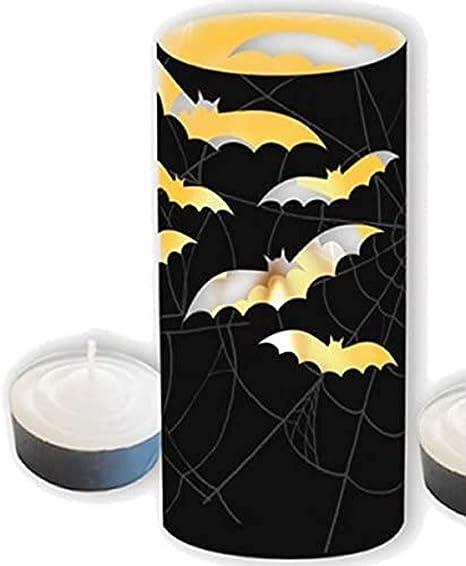 Cti Windlicht Teelicht Halloween Fledermaus 8 Gruselige Deko Umrandungen Fur Teelichter Kerzen Amazon De Kuche Haushalt