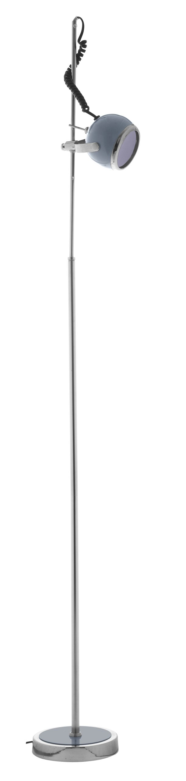 Lifetime Lighting Single Floor Lamp (Grey)