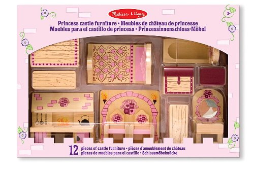 Amazing Melissa and Doug Princess Castle Furniture Set
