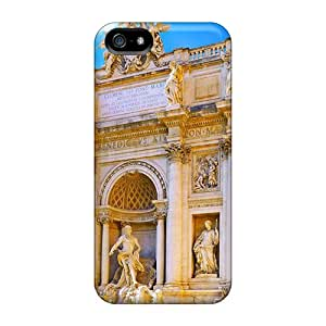 High Quality Shock Absorbing Cases For Iphone 5/5s-trevi Fountain