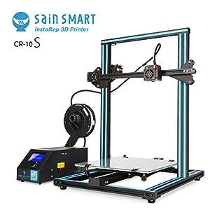 "SainSmart x Creality CR-10S 3D Printer, Resume Printing, Filament Detector, Semi-Assembled, Dual-Z Motors, 11.8""x11.8""x15.8"" by SainSmart"