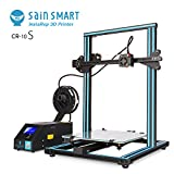 SainSmart x Creality CR-10S 3D Printer, Resume Printing, Filament Detector, Semi-Assembled, Dual-Z Motors, 11.8''x11.8''x15.8''